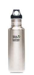 Klean Kanteen 27 oz w/Loop Cap, Stainless Steel