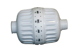 Shower Filter 480g KDF White