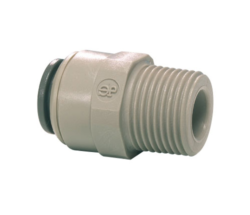 "John Guest Male Connector 3/8""x3/8"" nptf PI011223S"